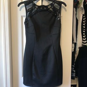 Tobi Black Mini Dress